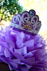 MY PARTY PASSION: Sofia the First - Once Upon a Princess Party