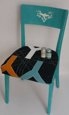 Provence&Old white Chalk paint refreshed and reupholstered