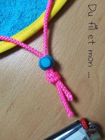 Du fil et mon...: Tuto : Sac Pieds Secs Pixel Art, Crochet Necklace, Barbie, Bracelets, Jewelry, Costume, Drink, Blog, Creativity