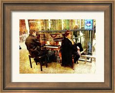 Framed Print featuring the photograph Musical #London by Judi Saunders.