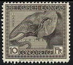 elephant on postage stamp - Google Search