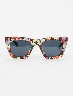 Floral patterned sunglasses – Hot or Not?