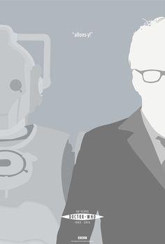 """Doctor Who 50th Anniversary"" Poster Set | Randombell.com"