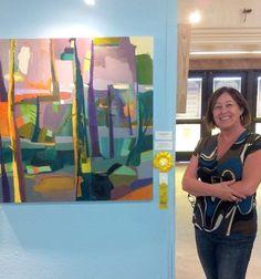 Danielle Nelisse painting wins art award at San Diego County Fair Fine Art Exhibit 2015