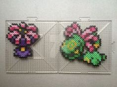 #345-#346 Lileep and Cradily Perlers by TehMorrison