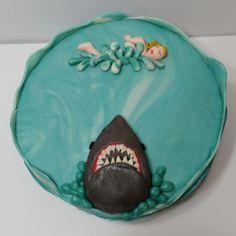 The only ocean you'll ever see me swim in - Cake by Barbara Dipierro