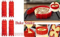 Bake Snake silikónová skladacia forma Snake, Baking, Desserts, Food, Tailgate Desserts, Deserts, Bakken, Essen, A Snake
