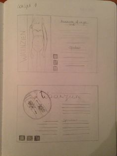 Fase 2 : schetsen concept 1