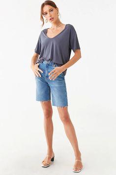 Forever 21 Website, Bermuda Shorts, 21st, Models, Image, Women, Fashion, Templates, Moda