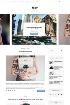 #Clean #Blog & #Magazine #WordPress #Theme.Iggy is a Premium WordPress Theme is Perfect for any Blog or Magazine. Theme has a unique design with a lot of options, that can help customizing your blog, changing colors, layouts, post views and more. Unlimited blog styles and layout combinations (5+ Blog layouts, 5+ Featured Posts Slider layouts, 2 Header Variations, unlimited widget combinations and color themes). And all of this you can manage with 1 click of your mouse. Modern minimal design…