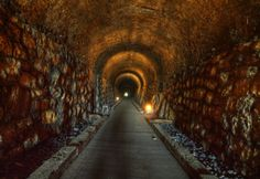 Inside the haunted historic 1850 Western & Atlantic Railroad Tunnel, Tunnel Hill, GA Scary Places, Haunted Places, Abandoned Places, Haunted Houses, Oh The Places You'll Go, Places To Travel, Places To Visit, Travel Things, Travel Destinations