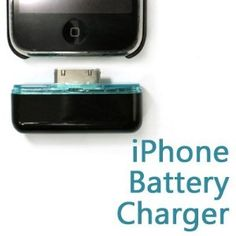 Portable iphone battery charger.