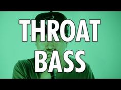 Learn How To Beatbox: THROAT BASS - YouTube