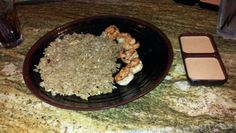 Hibachi shrimp & fried rice;)