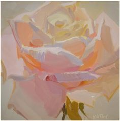 floral, pastel, radiant, light, soft, quiet by Karen ONeil...she is awesome!