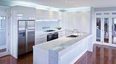 44 Inspiring Design Ideas for Modern Kitchen Cabinets - Decor 2019 Kitchen Wall Cabinets, White Cabinets, Boffi, Home Decor Quotes, Kitchen Models, Room Interior Design, Interior Plants, Küchen Design, Design Ideas