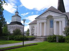 Pedersöre church. Ostrobothnia province of Western Finland. - Pohjanmaa.