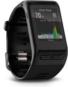 Garmin Vivoactive GPS Multisport Heart Rate Monitor Watch Black Regular