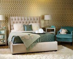 regency bedrooms   Hollywood Regency Bedroom Decorating Style Series: Hollywood Regency