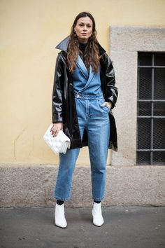 The Color Pink Is Still Trending, According to Street Style at Milan Fashion Week - Fashionista Milan Fashion Week Street Style, Street Style 2018, Autumn Street Style, Milan Fashion Weeks, Cool Street Fashion, Street Style Looks, Sonia Rykiel, Isabel Marant, Stella Mccartney