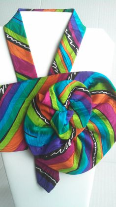 Dress it up with this brightly colored trendy by BeansOneOfAKind