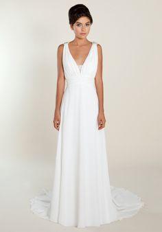 So Many Might Look At This Grecian Style Dress And Think Huh Boring