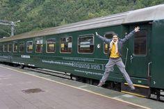 Flåmsbana, viajeros al tren