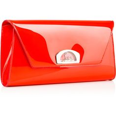 Christian Louboutin Vero-Dodat Clutch ($1,200) ❤ liked on Polyvore featuring bags, handbags, clutches, christian louboutin purse, christian louboutin handbags, flat purse, pocket purse and envelope clutch