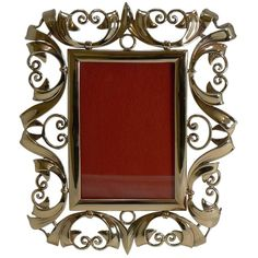 Shop vintage, mid-century, modern and antique picture frames from the world's best furniture dealers. Victorian Picture Frames, Victorian Pictures, Vintage Picture Frames, Polished Brass, Solid Brass, Decorative Objects, Cool Furniture, French Antiques, Vintage Shops