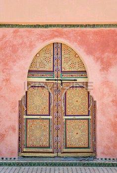Goergous Moroccan doors