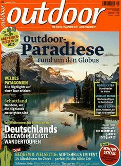 Outdoor-Paradiese - rund um den Globus. Gefunden in: outdoor, Nr. 1/2016