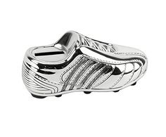 Silver Plated Soccer Boot Child Money Bank By Haysom Interiors * Want to know more, click on the image.Note:It is affiliate link to Amazon.