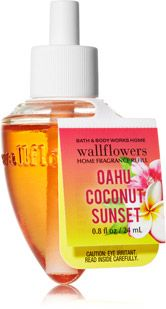 Oahu Coconut Sunset Wallflowers Fragrance Refill - Home Fragrance 1037181 - Bath & Body Works