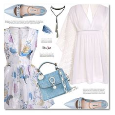 """""""Dresses Under $100 ~ Rosegal"""" by defivirda ❤ liked on Polyvore featuring Miu Miu, Ermanno Scervino and Sisley"""
