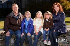 Borglum Family / October 5/12 / Cascade Gardens Banff / Photography by Roger Witney