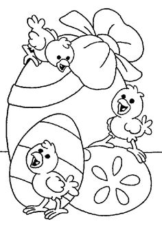 Easter Coloring Book - AZ Coloring Pages Easter Coloring Pages Printable, Easter Coloring Sheets, Spring Coloring Pages, Easter Colouring, Easter Printables, Coloring For Kids, Coloring Books, Easter Arts And Crafts, Easter Projects