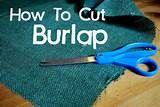 Burlap crafts | Crafts | Pinterest
