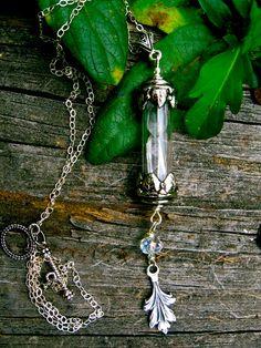 Magical Stones Double Quartz necklace by EireCrescent on Etsy, $19.99