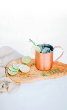 Yummy Moscow Mule made with Wild Turkey American Honey.