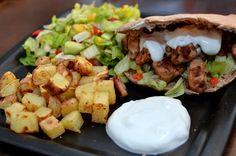 Middager (Bakekona) Tacos, Mexican, Chicken, Ethnic Recipes, Food, Blogging, Essen, Meals, Yemek