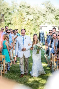 Sweet Country-Rustic Wedding in Boulder on Borrowed & Blue. Father Of The Bride, Bouldering, The Borrowers, Photo Credit, Real Weddings, Rustic Wedding, My Photos, Wedding Inspiration, Country