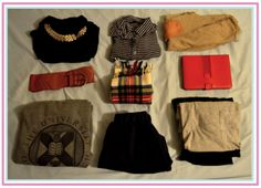 how to pack for a weekend - Google Search