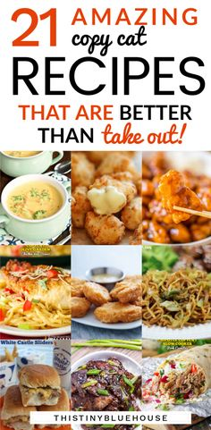 delicious and easy to make copy cat recipes that will help you avoid ordering in but still eat delicious copycat meals. Try these recipes this week and start saving money! Great Recipes, Dinner Recipes, Favorite Recipes, Easy Recipes, Slow Cooker Recipes, Cooking Recipes, Healthy Recipes, Cheap Vegetarian Meals, Cheap Meals