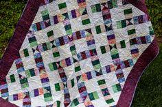 Batik Quilts, Lap Quilts, Scrappy Quilts, Quilt Blocks, Quilting Tips, Quilting Projects, Quilting Designs, Modern Quilting, Batik Pattern