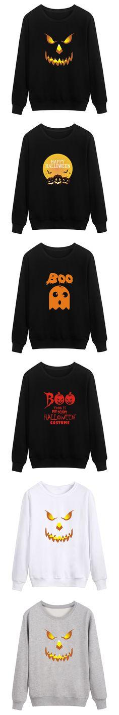 Halloween Pumpkin Funny Autumn Style Mens Hoodies and Sweatshirts Oversized with 4XL Punk Winter Warm Harajuku Sweatshirt Men