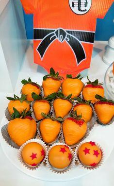 Goku Birthday, Dragon Birthday Parties, 1st Birthday Party Themes, Bear Birthday, Birthday Ideas, Party Desserts, Party Cakes, Dragonball Z Cake, Anime Cake