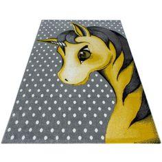 Lasten Yksisarvinen/Unicorn matto keltainen - Tuppu-Kaluste Jute, Childrens Rugs, Room Carpet, Best Dining, Bambi, Kids Room, Snoopy, Yellow