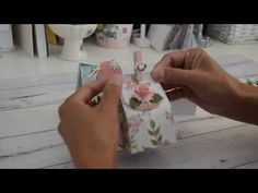 Firstly I do apologise for my little boy barking in the background, I think he wanted to be in the video. Secondly I do hope you enjoyed this quick tutorial . Craft Box, Toy Craft, Craft Ideas, Foam Crafts, Paper Crafts, Paper Art, Favor Boxes, Gift Boxes, Origami Templates