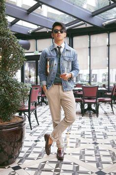 Men's Street Style Inspiration #9 I recently... | MenStyle1- Men's Style Blog