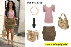 Kim kardashian get the look! ❤️